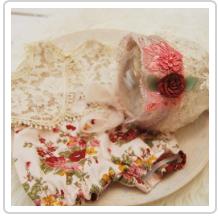 Newborn Set - Bonnet and Outfit