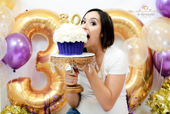 Marissa's 30th Cake Smash