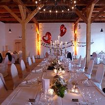 Gut Ahlsdorf, Festscheune, Hochzeitslocation in Brandenburg