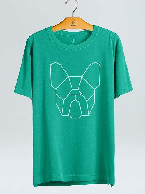 T-shirt Clássica - Verde Água