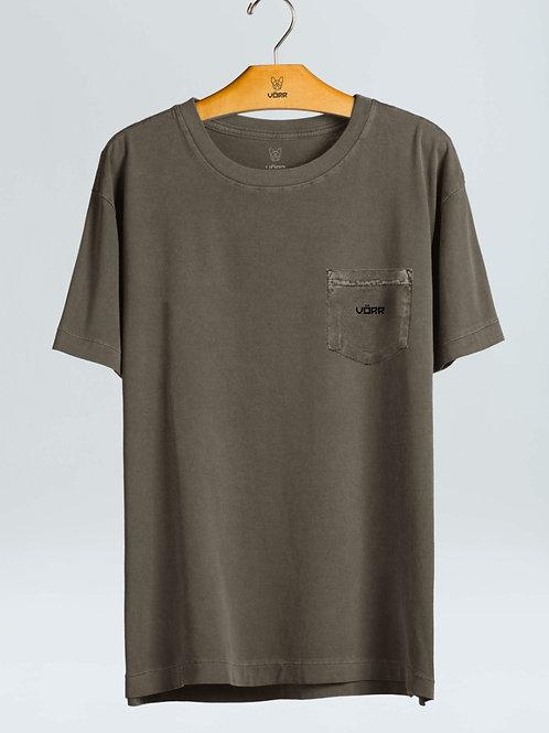 T-shirt Bolso BSC - Cinza