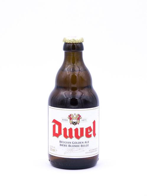 Duvel Blonde sur Lie