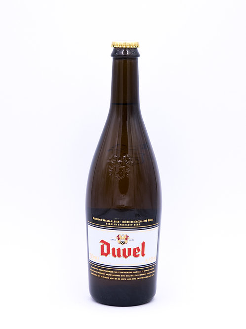 Duvel Blonde sur Lie 75