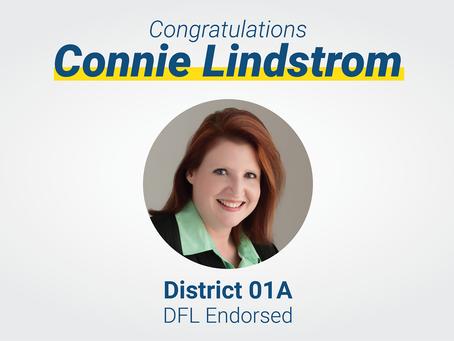 Lindstrom Receives DFL Endorsement for HD01A