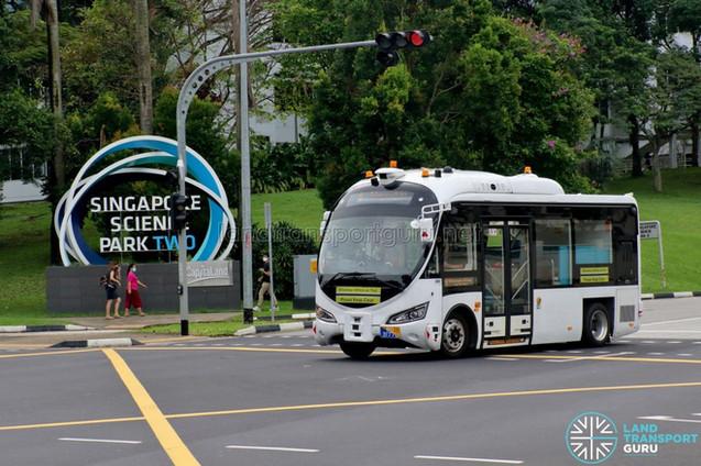 Autonomous Bus Trial @ Science Park 2