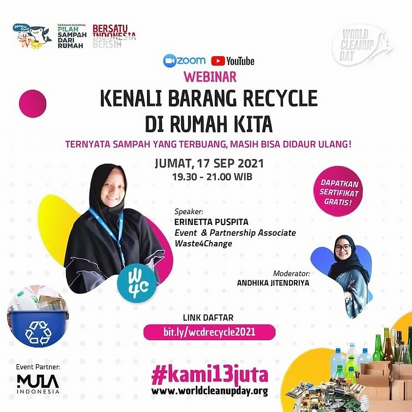 Kenali Barang Recycle di Rumah Kita: Ternyata Sampah yang Terbuang, Masih Bisa Didaur Ulang!