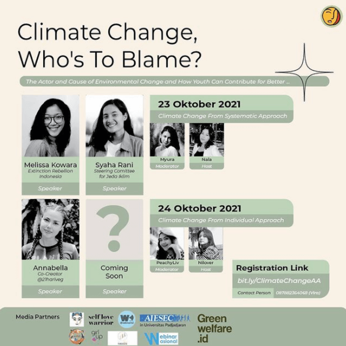Climate Change From Systematic Approach