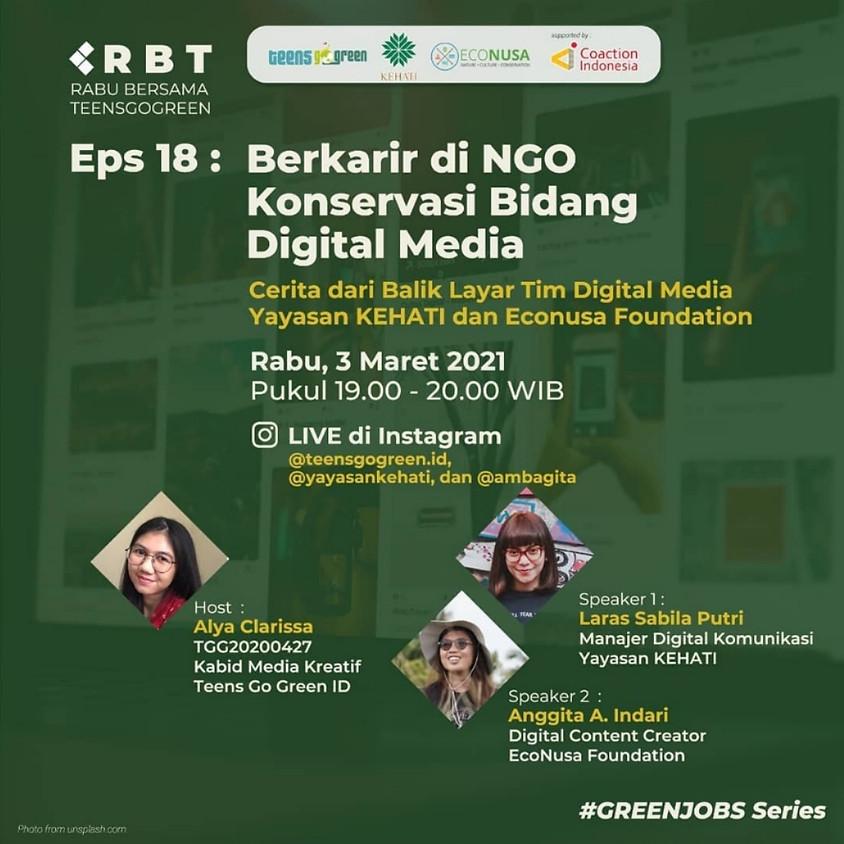 Berkarir di NGO Konservasi Bidang Digital Media