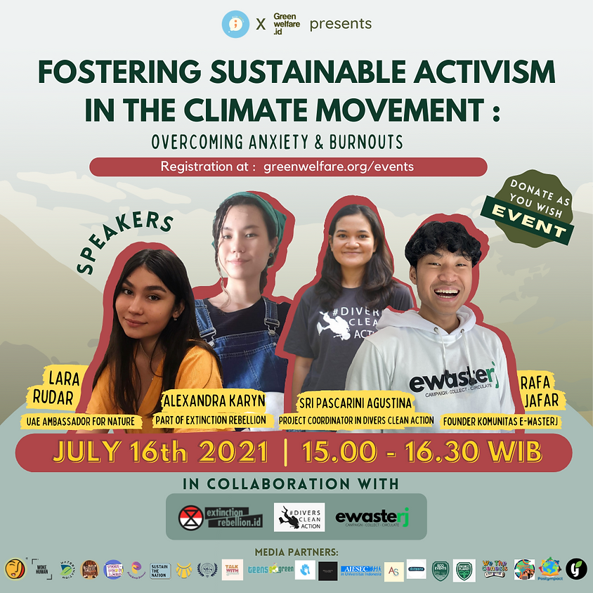 Fostering Sustainable Activism in The Climate Movement: Overcoming Anxiety and Burnouts