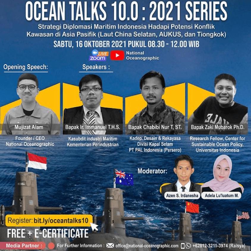 Ocean Talks 10.0: 2021 Series