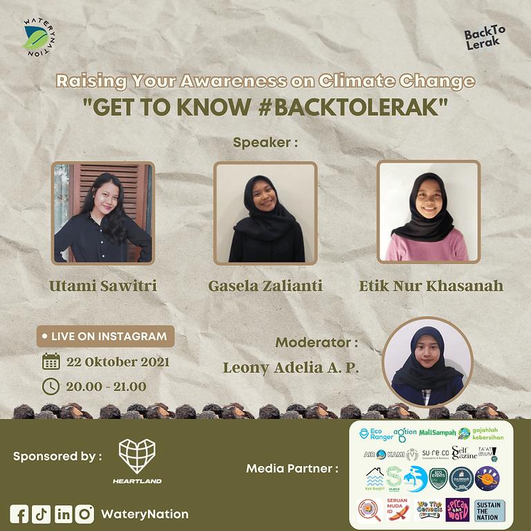 Get To Know #BackToLerak