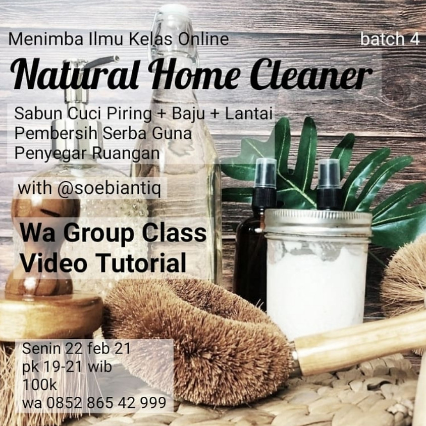 Natural Home Cleaner