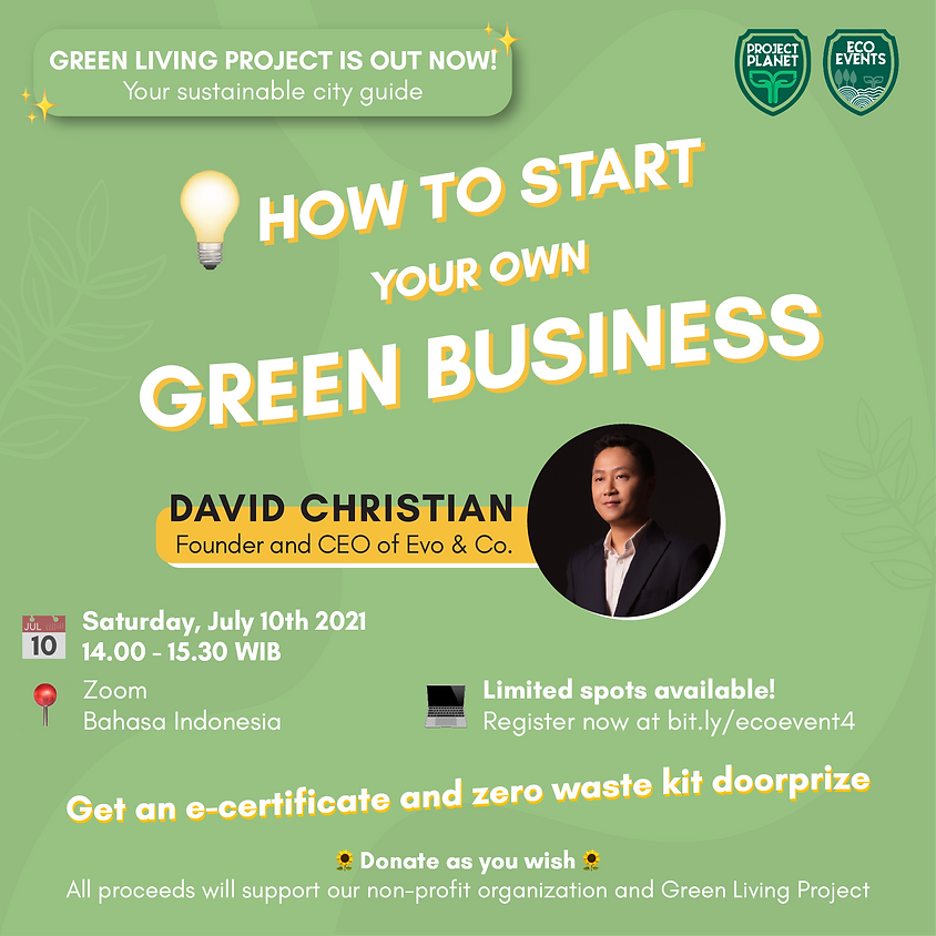 How To Start Your Green Business