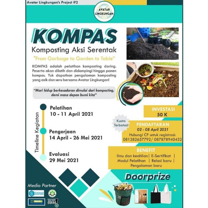 Komposting Aksi Serentak 2021