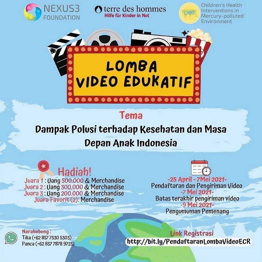 Lomba Video Edukatif: Dampak Polusi Terhadap Kesehatan dan Masa Depan Anak Indonesia