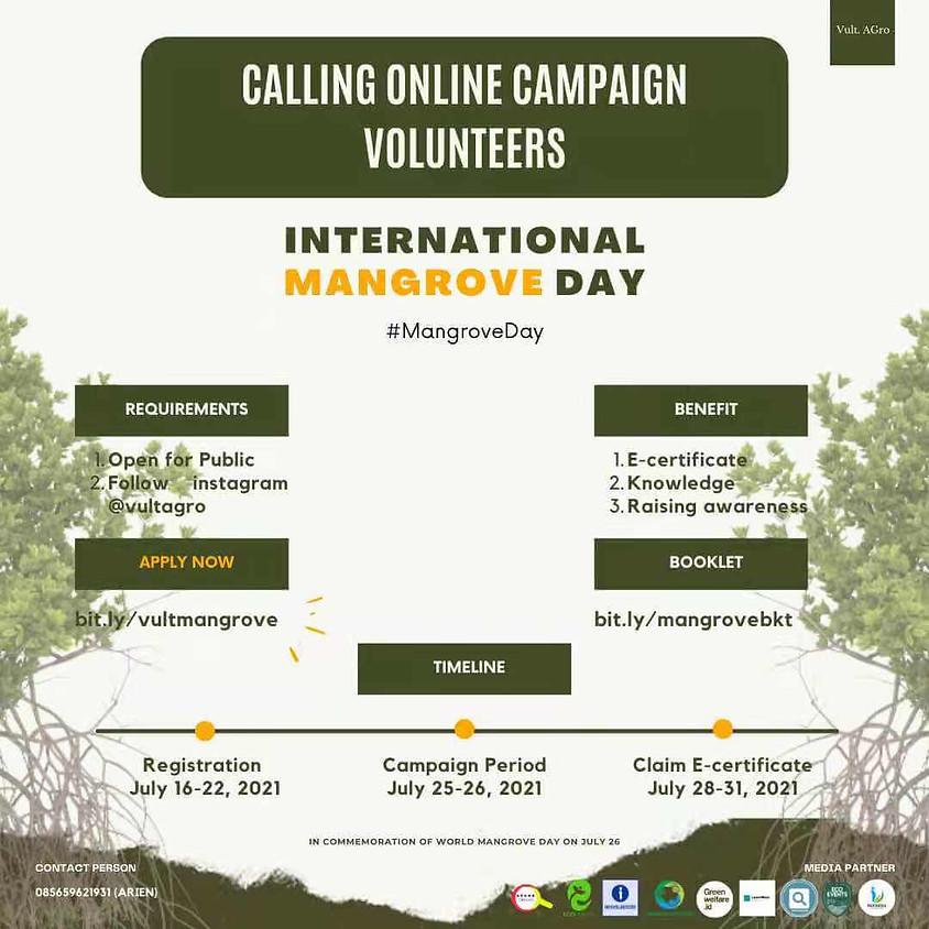 International Mangrove Day : Online Campaign Volunteers