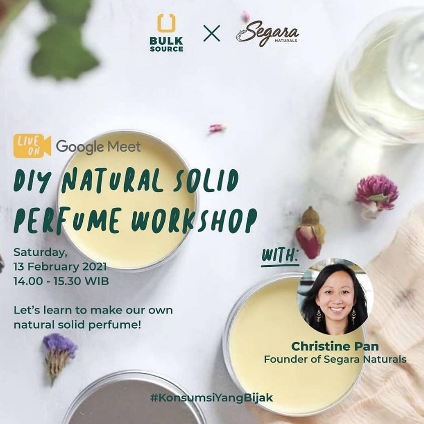 DIY Natural Solid Perfume Workshop