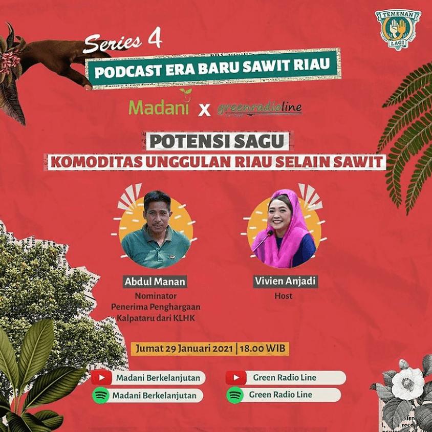 Potensi Sagu Komoditas Unggulan Riau Selain Sawit