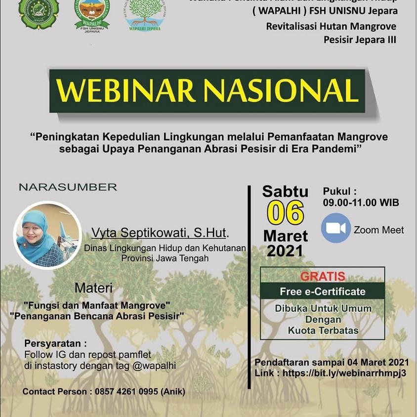 Peningkatan Kepedulian Lingkungan melalui Pemanfaatan Mangrove sebagai Upaya Penaganan Abrasi Pesisir di Era Pandemi