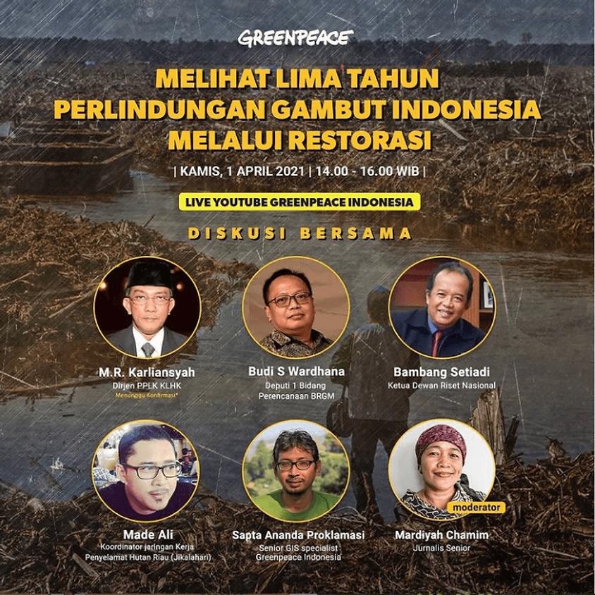 Melihat Lima Tahun Perlindungan Gambut Indonesia Melalui Restorasi
