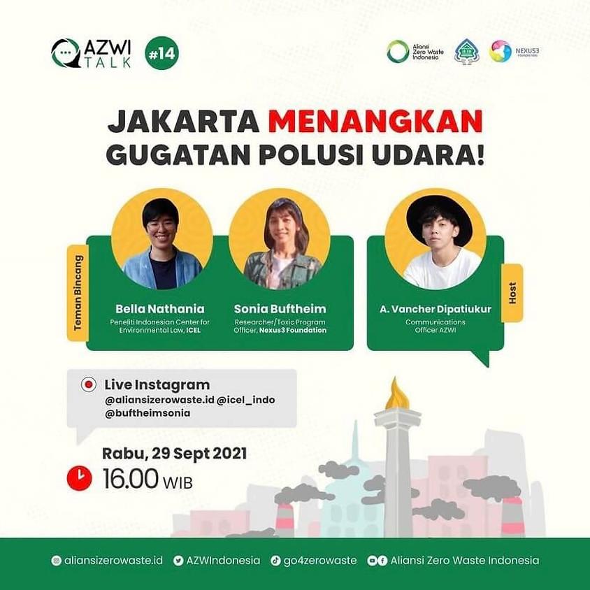 Jakarta Menangkan Polusi Udara!