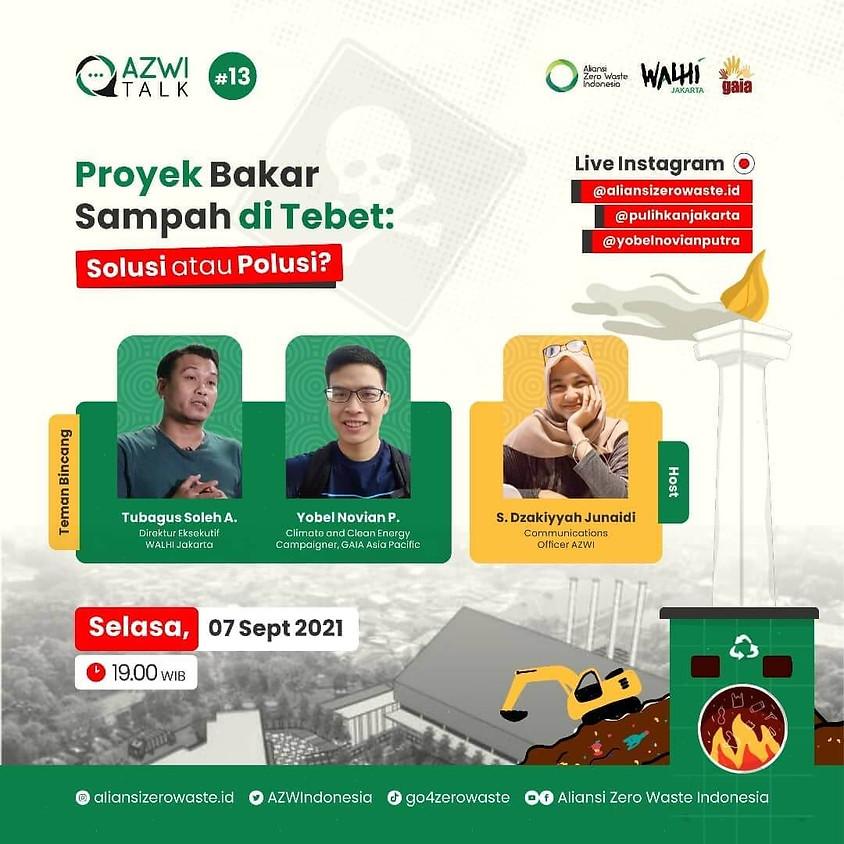 Proyek Bakar Sampah di Tebet: Solusi atau Polusi?