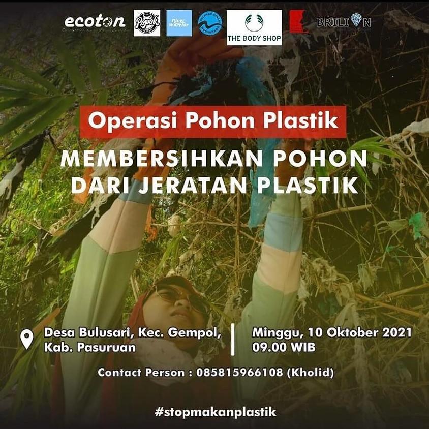 Operasi Pohon Plastik: Membersihkan Pohon dari Jeratan Plastik