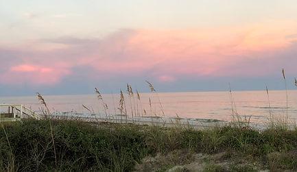 sunset... island style