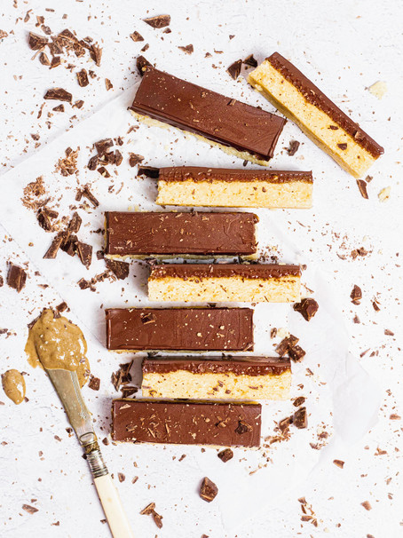 Peanut Butter Millionaire's Shortbread