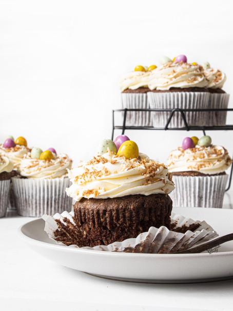 Chocolate & Coconut Cupcake Nests