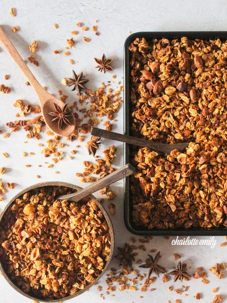 Crunchy Christmas Granola