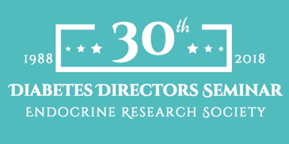 30th Annual Diabetes Directors Seminar