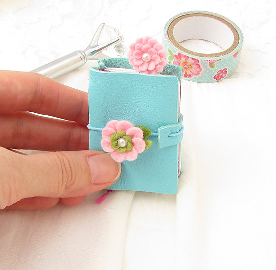 DIY Kit - A8 Micro Mini Travelers Notebook Combo Kit