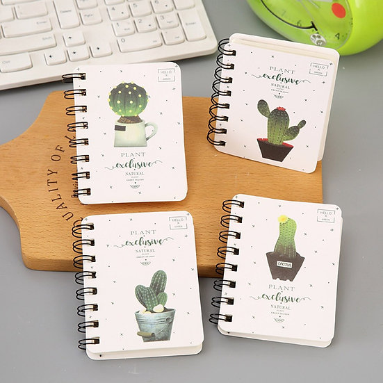 Cacti Spiral Bound Notebooks