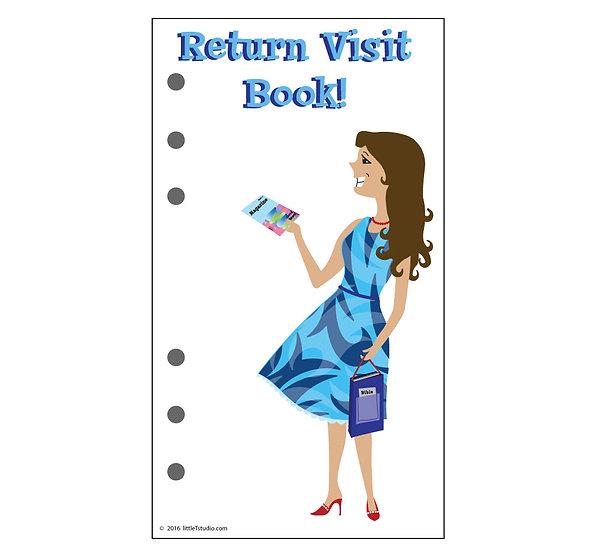 Personal Size Return Visit Book - Printable PDF