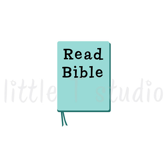 Read Bible Pastel Reminder Mini Size Stickers - 332M
