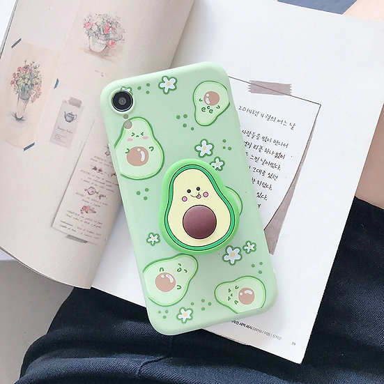 Cute Avocado iPhone 12 Mini Case