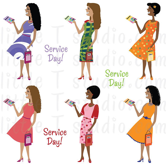 Sisters Variety Pack 2 Digital Clipart