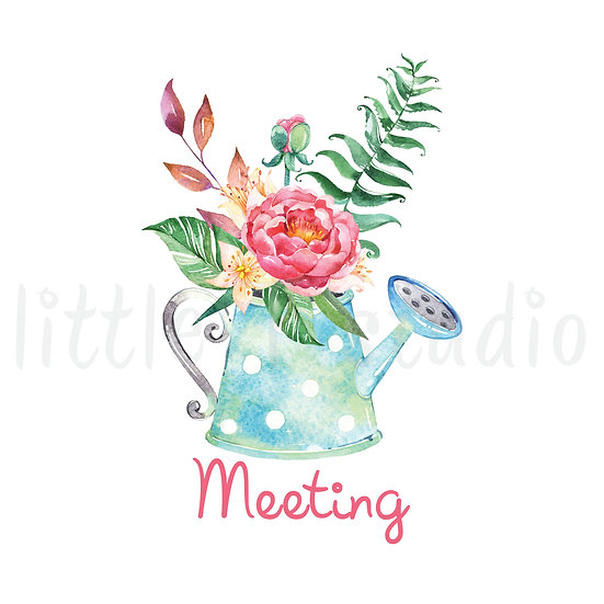 Meeting Stickers Spring Butterfly - Style 657 or 155M