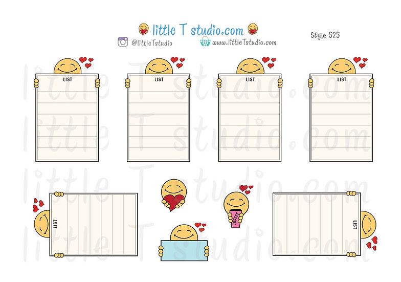 Joys of Life List Stickers - Style 525