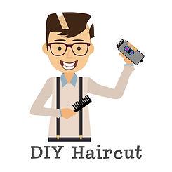 DIY Haircut Sticker