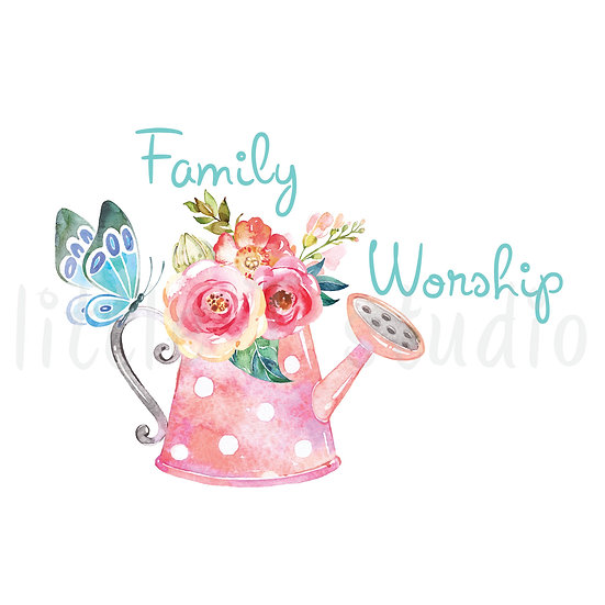 Family Worship Stickers Spring Butterfly - Style 656