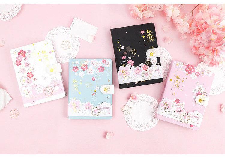 Sakura Cherry Blossom Flower Full Color Journal/Notebook