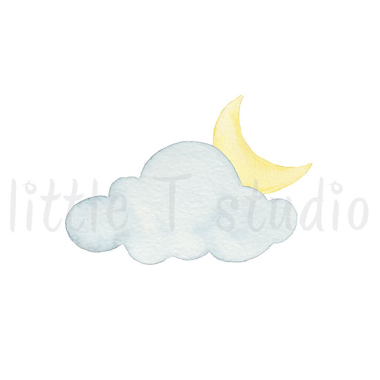 Overnight Cloudy Stickers - Style 463M or 479M