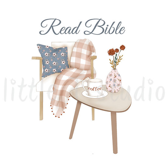 Read Bible Peaceful Reading Spot Stickers - Style 1106