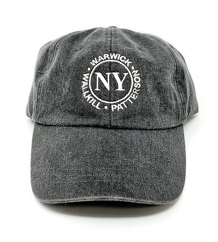 NY 6-PANEL WASHED PIGMENT - DYED CAP (K) - Multiple Color Choices!