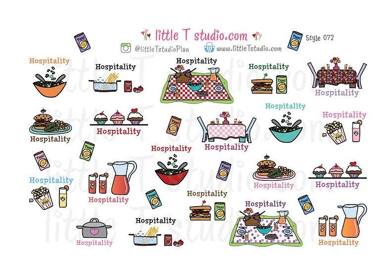 Hospitality Reminder Variety Pack - Style 072