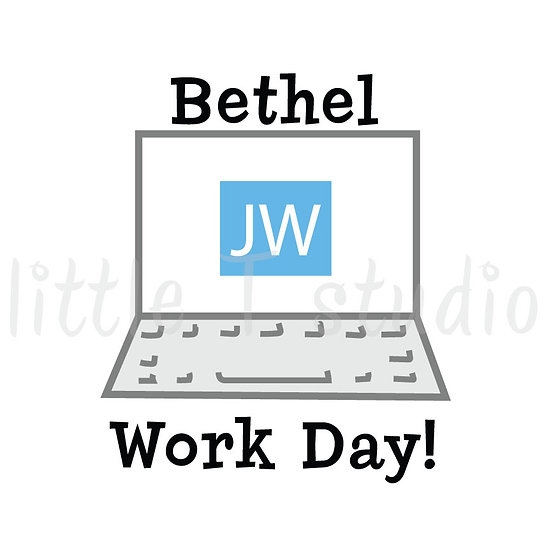 Bethel Work Day Stickers - Style 1007