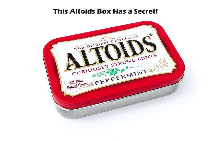 Altoids Box Secret Compartment Tutorial & Template