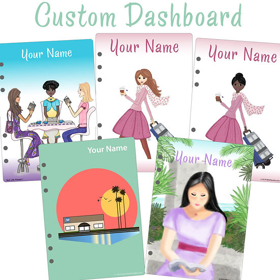 A5 Dashboard Custom PDF File - Customized with Your Name!